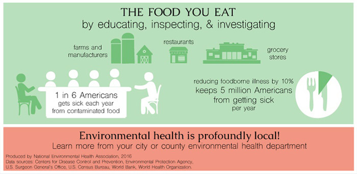 NEHA: The Food You Eat Infographic